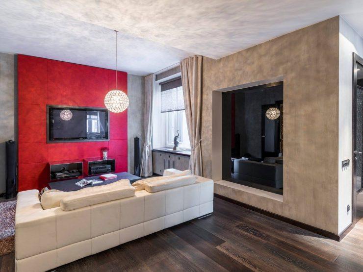 Moderns dzīvoklis Lāčplēša ielā