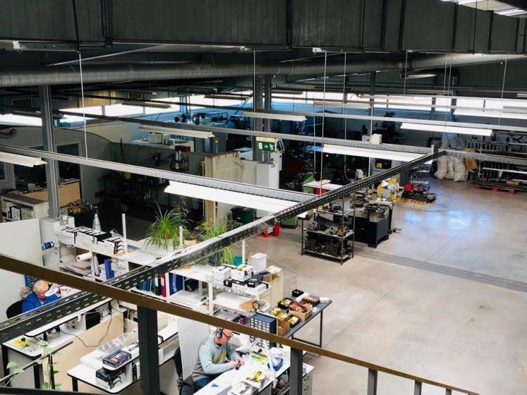 Ofiss ēka, ražotne – Mārupes centrā