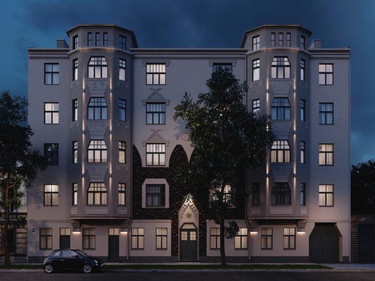 Lielisks 4 istabu dzīvoklis pilnībā renovētā ēkā