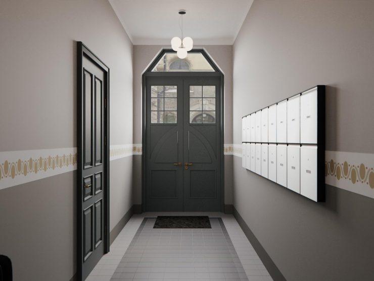 Lielisks mansarda dzīvoklis pilnībā renovētā ēkā