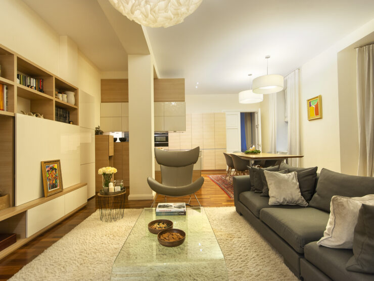 Modern and nice apartment in Riga center