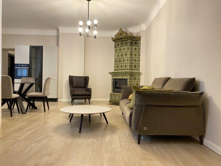 Dzirnavu Street 6, quiet center – 4-room apartment