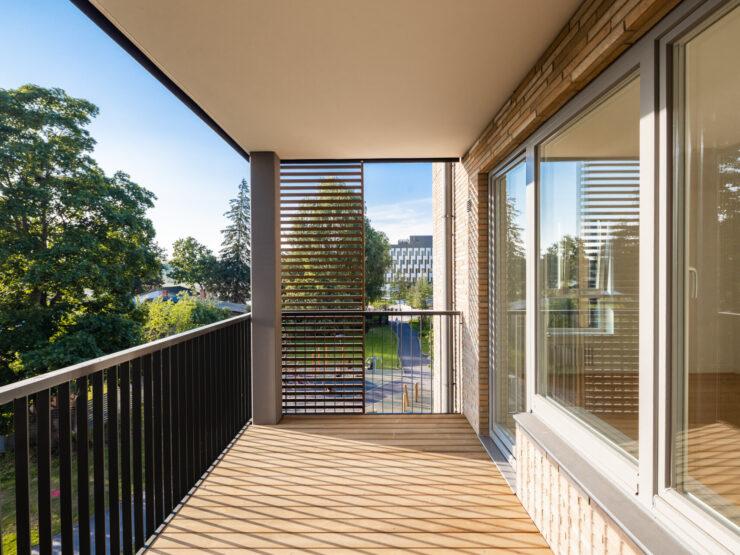 Pārdod 2 istabu dzīvokli ar terasi Pārdaugavā, Mārupē